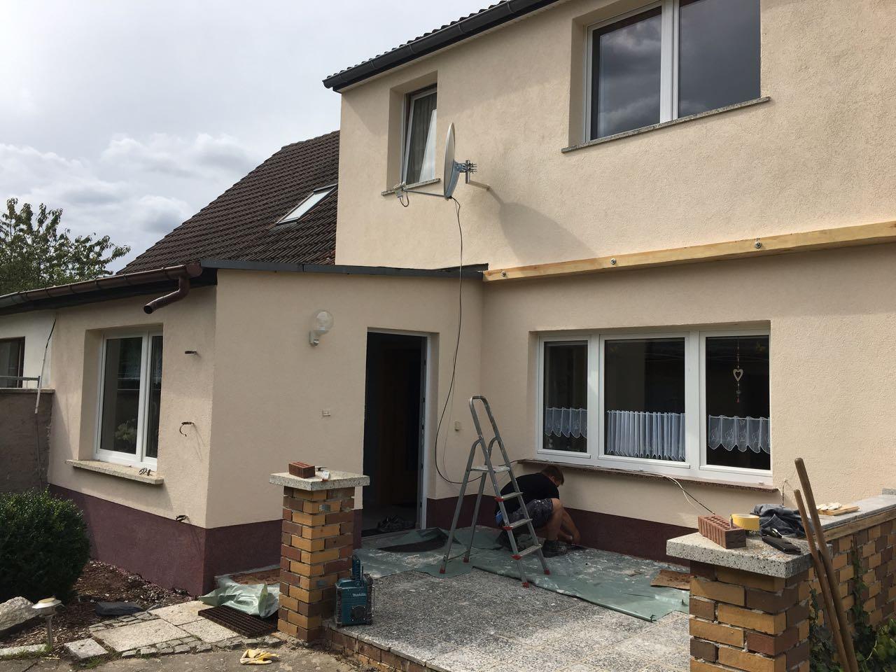 Sanierung Fassade Einfamilienhaus