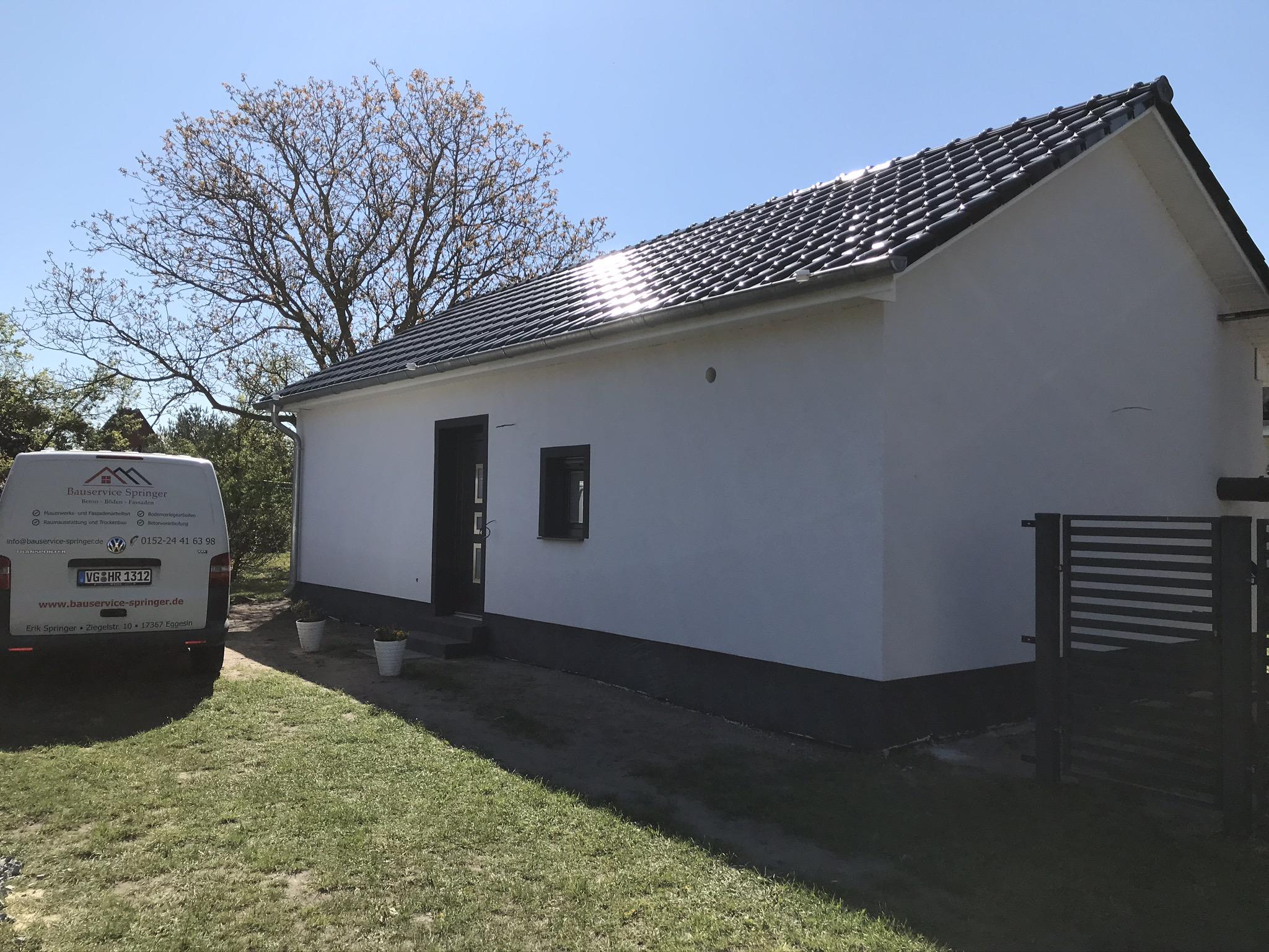 Umbau Garage zum Ferien-Bungalow