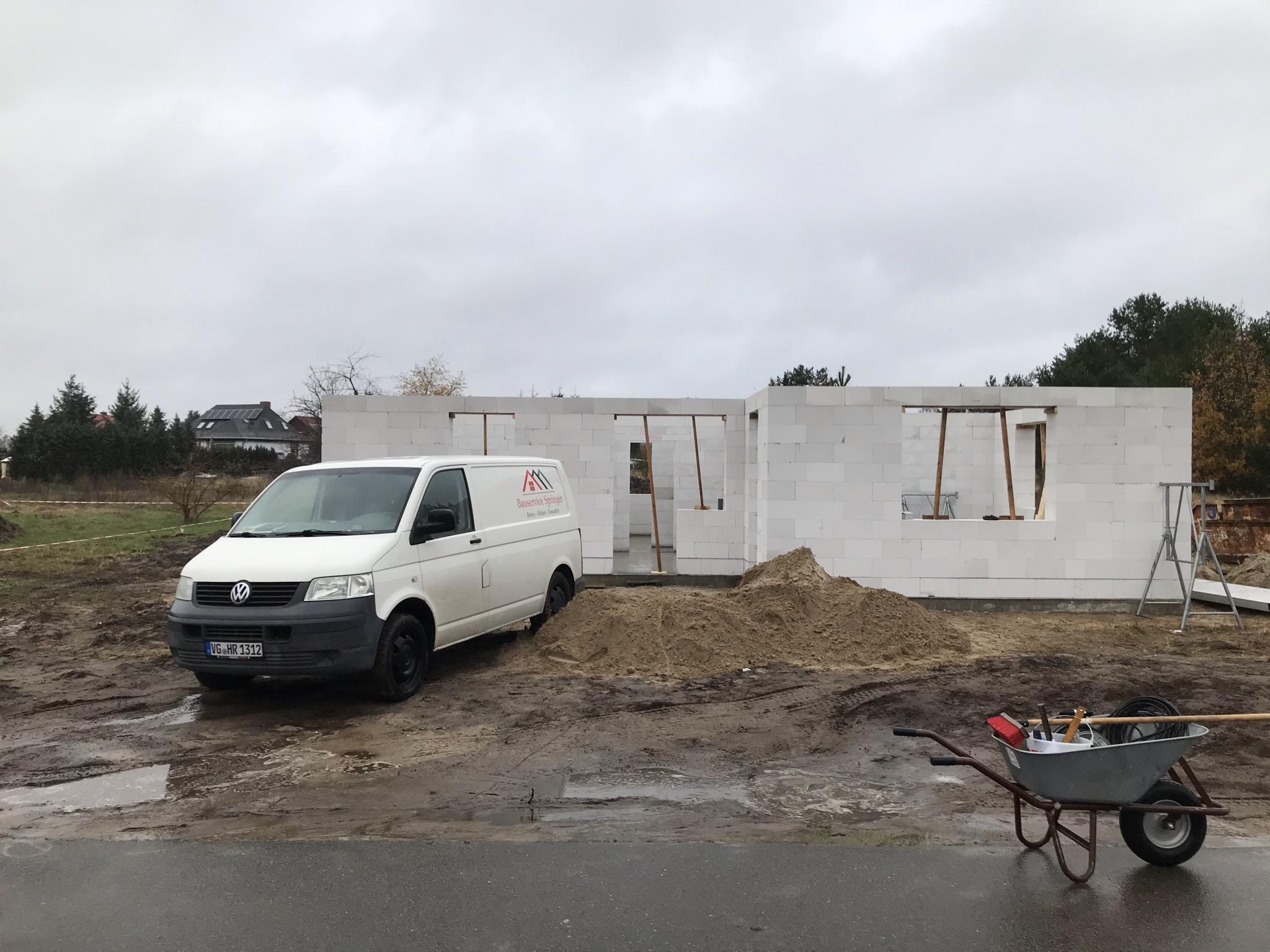 Neubau Einfamilienhaus inkl. Bodenplatte